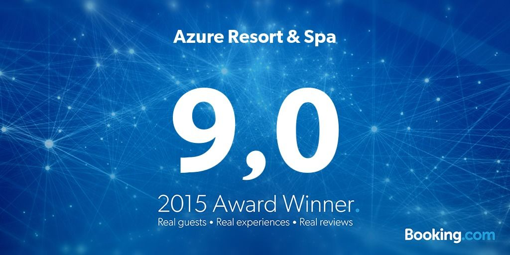 azure spa hotel booking award